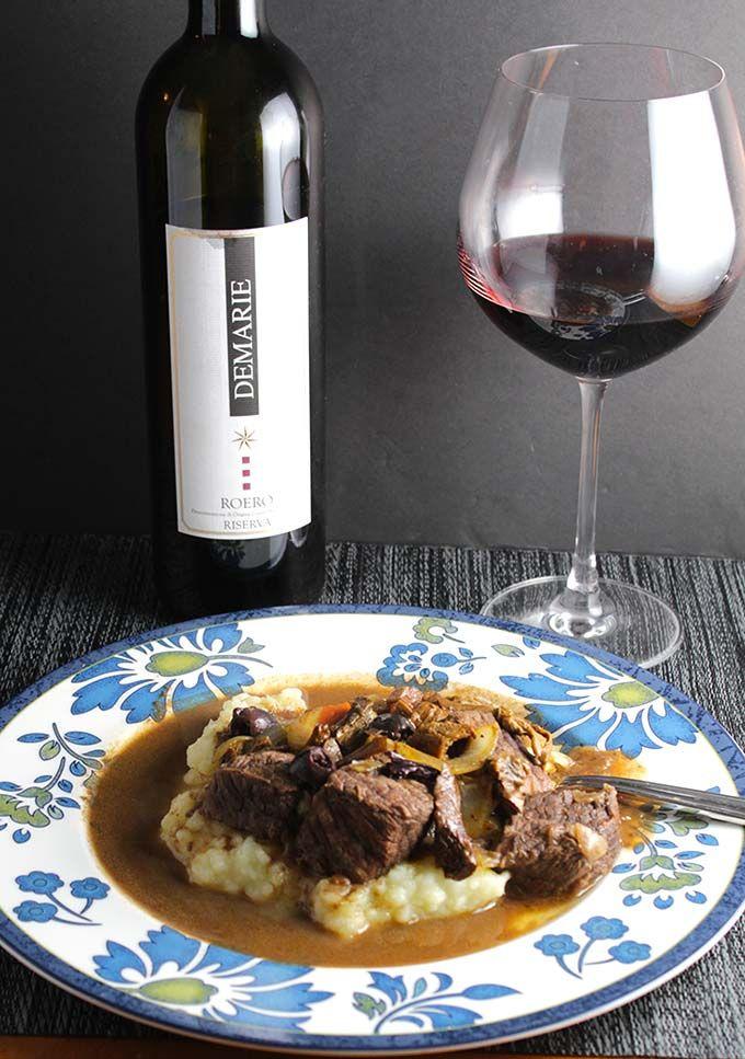 Porcini Mushroom Beef Stew With Wine Pairings Cooking Chat Recipe Beef Beef And Mushroom Stew Paleo Beef Recipes