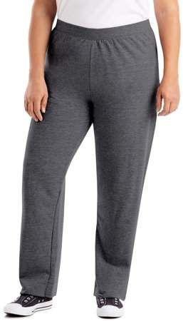 JUST MY SIZE Womens Plus-Size Fleece Sweatpant