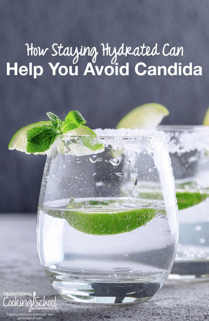 How Staying Hydrated Can Help You Avoid Candida