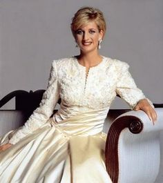 Lady Diana. Forever a Princess to me.