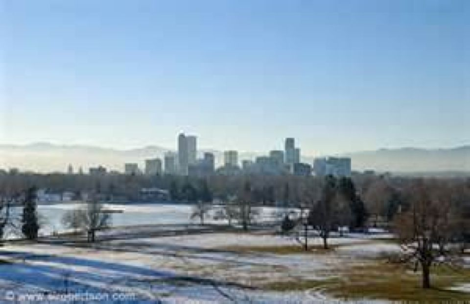 City Of Denver In Colorado