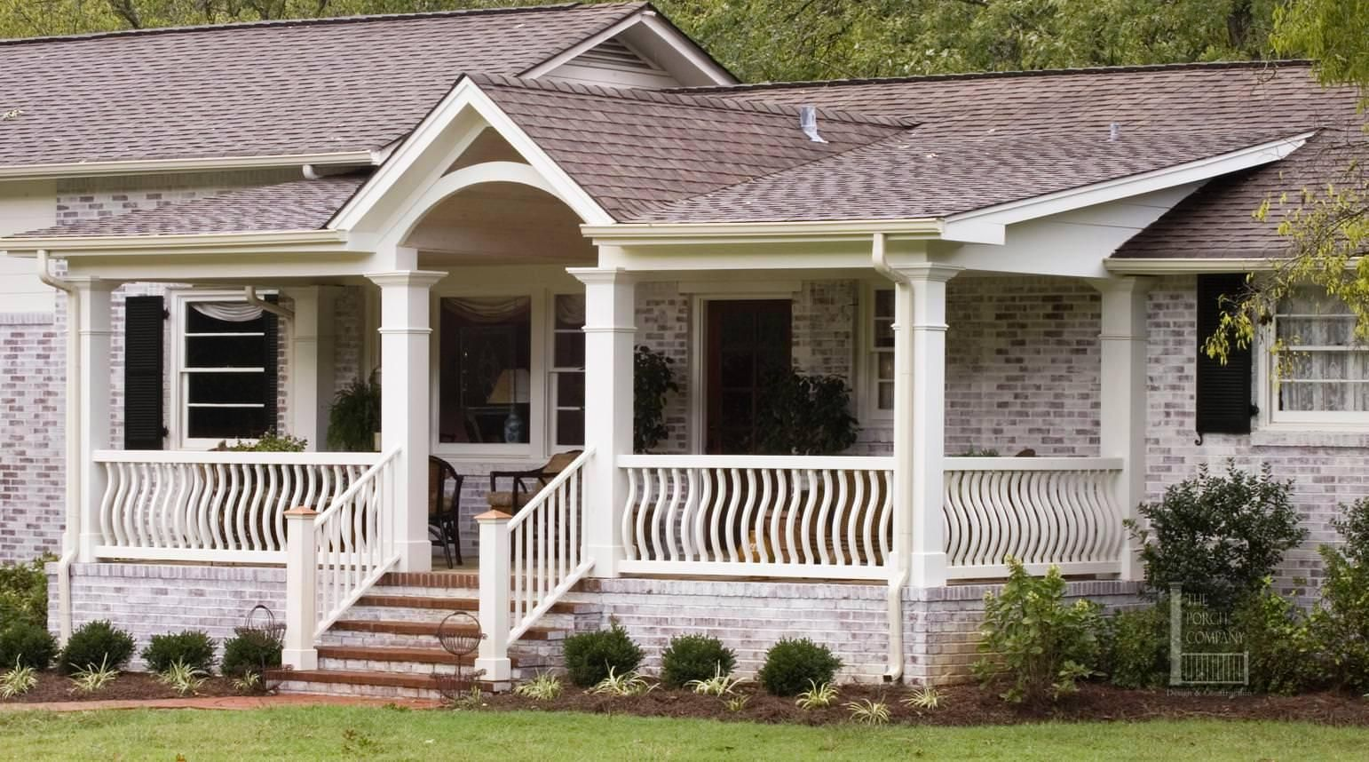 astounding front deck ideas for ranch style homes. Front Porches for Ranch Style Homes  Amazing front