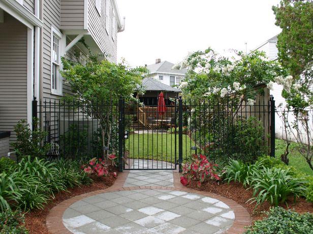 upgrading side yard home