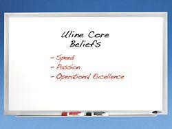 Dry Erase Boards White Board In Stock Uline Dry Erase Board Dry Erase Office Supplies Shop