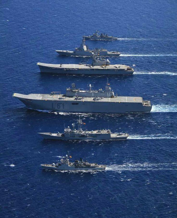 Flota española   Navy ships, Aircraft carrier, Landing craft Spanish Aircraft Carrier News