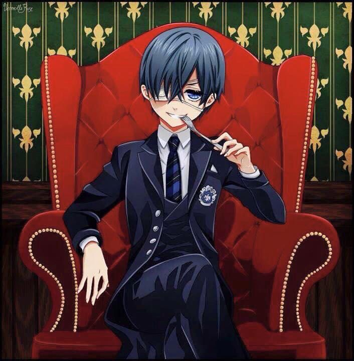 This is a black butler x reader oneshot  I do request with