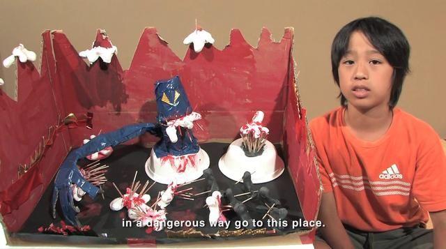 New Hell, Aichi, 2010. Video by Takayuki Yamamoto. Kids describe what hell is like