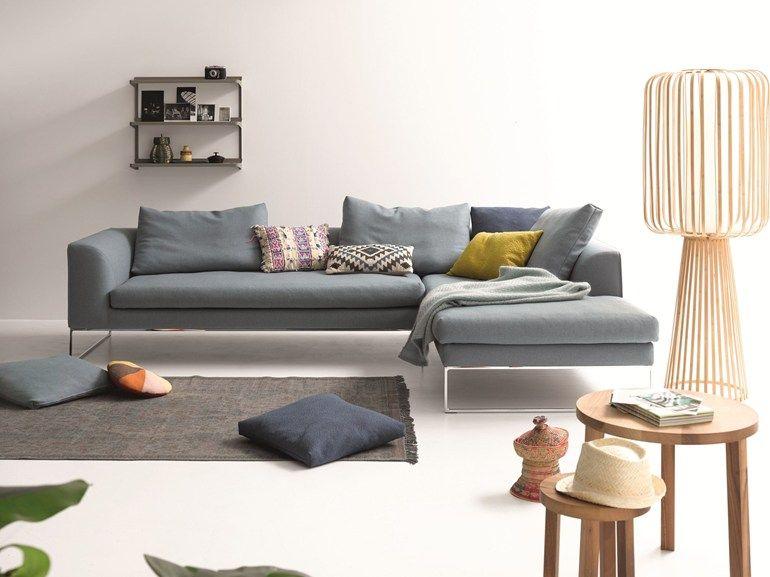 Sectional Upholstered Sofa MELL LOUNGE | Sectional Sofa   COR Sitzmöbel  Helmut Lübke