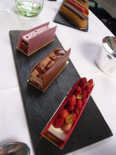 Un goûter au Plaza Athénée en compagnie des pâtisseries de CHRISTOPHE MICHALAK at Nourritures Terrestres