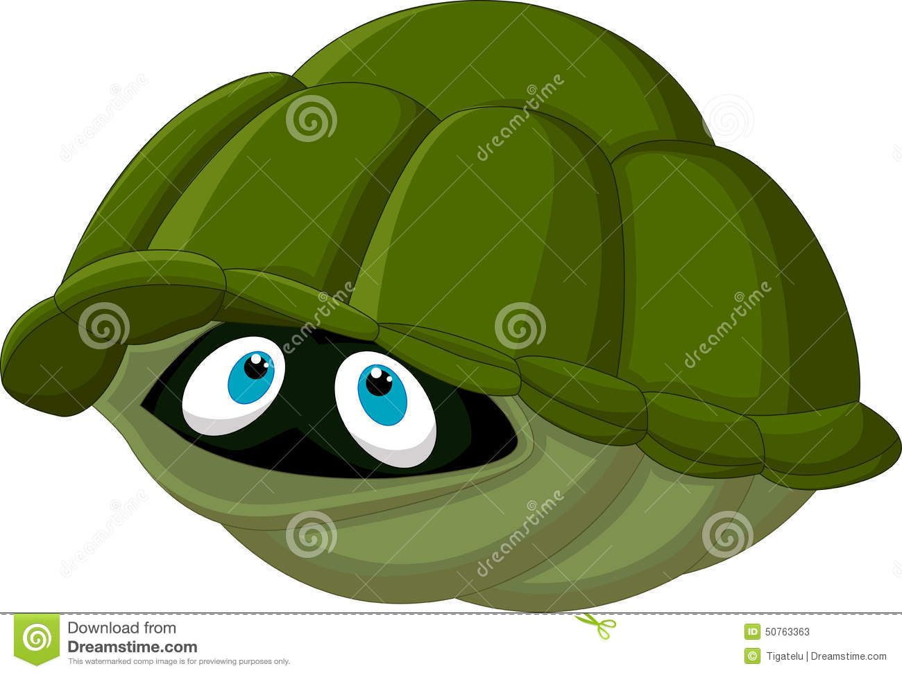 Hiding Turtle Clipart Clipartfest Cartoon Turtle Clip Art