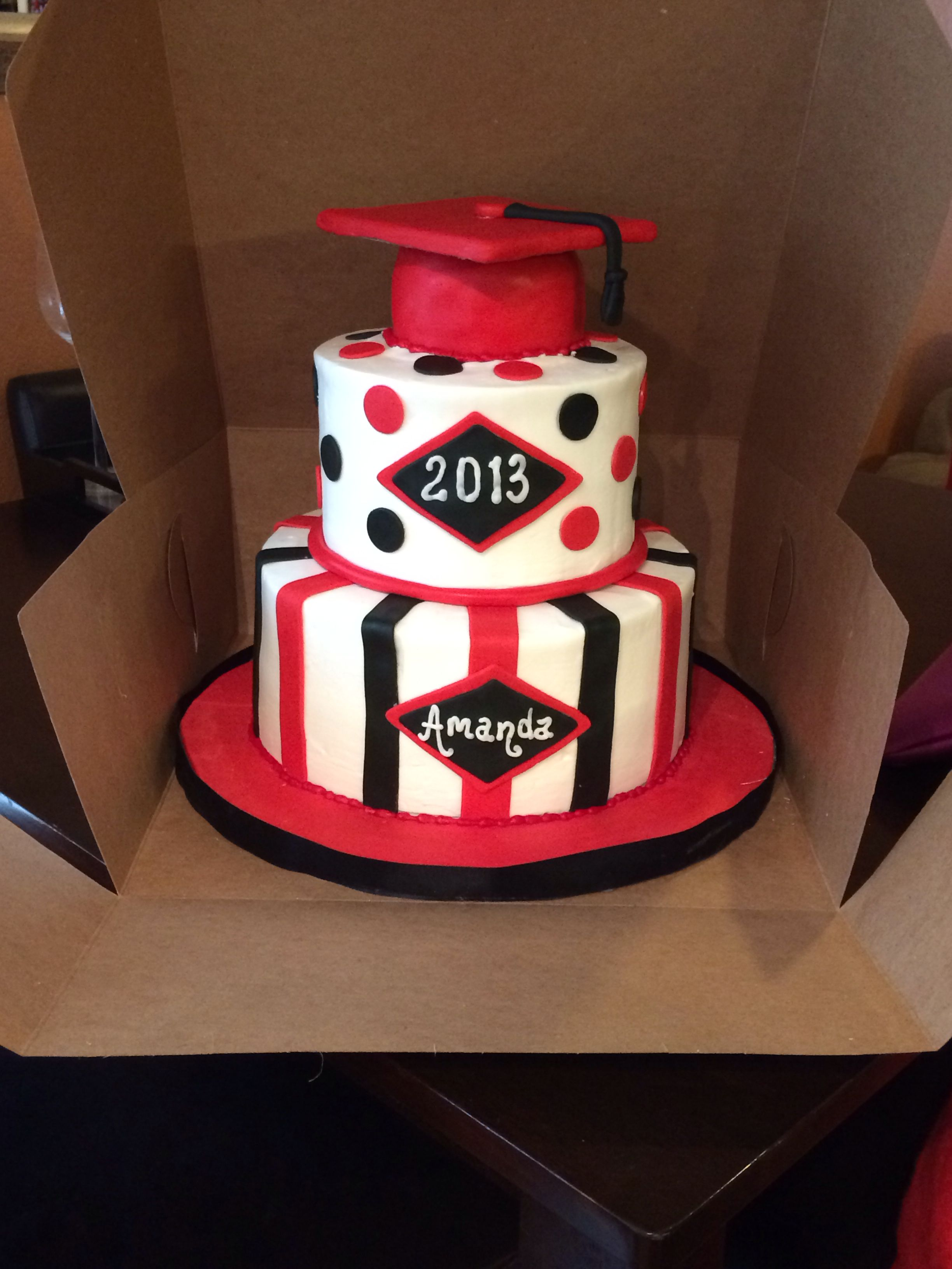 I Loved My Graduation Cake Cakes By Tammy Allen In Houston Tx