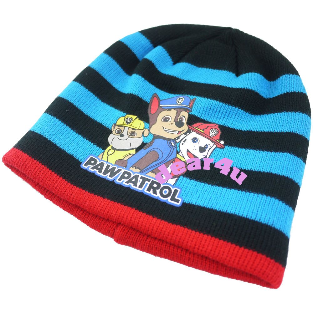 ef376f4cec5 New boys PAW PATROL marshall rescue winter Beanie Hat - one size fit all  kids All