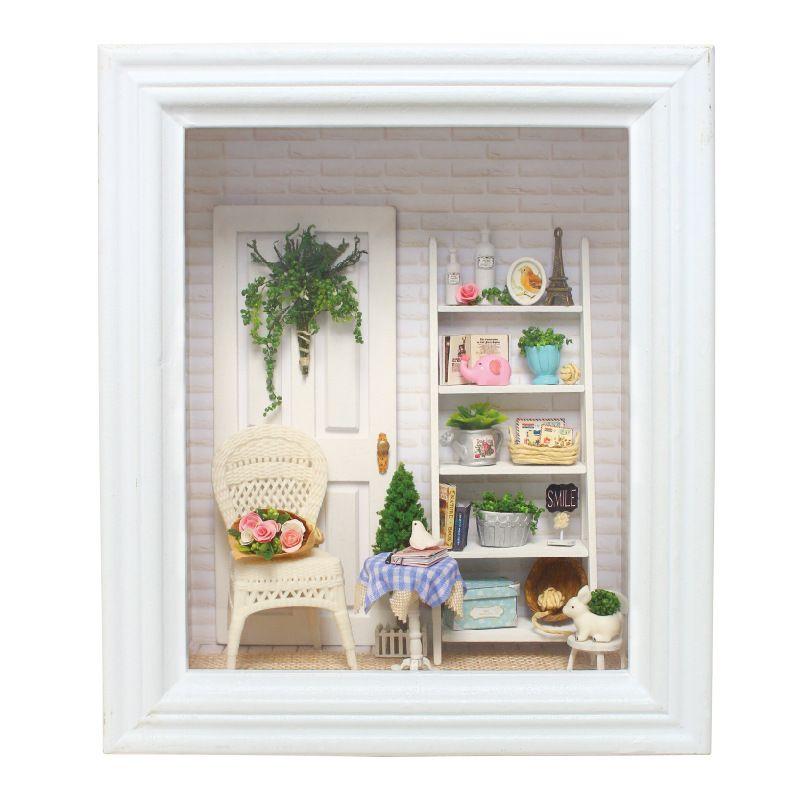 Aliexpress.com: Comprar Muebles de Casa de muñecas Diy Marco 3D ...