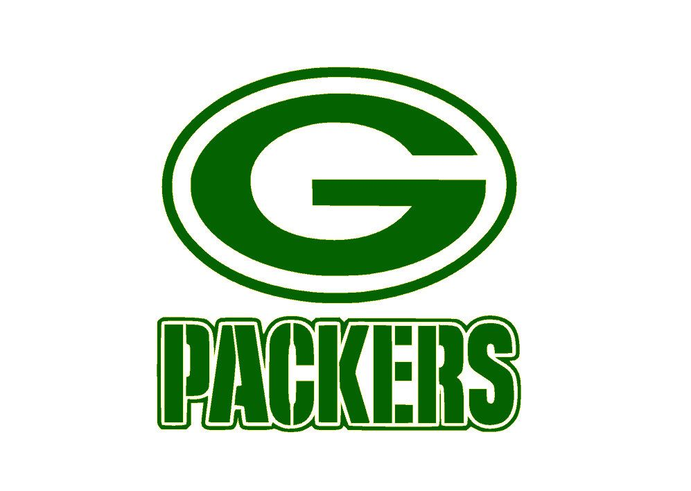 Green bay packers nfl vinyl decal sticker car decal by pazabri on etsy https