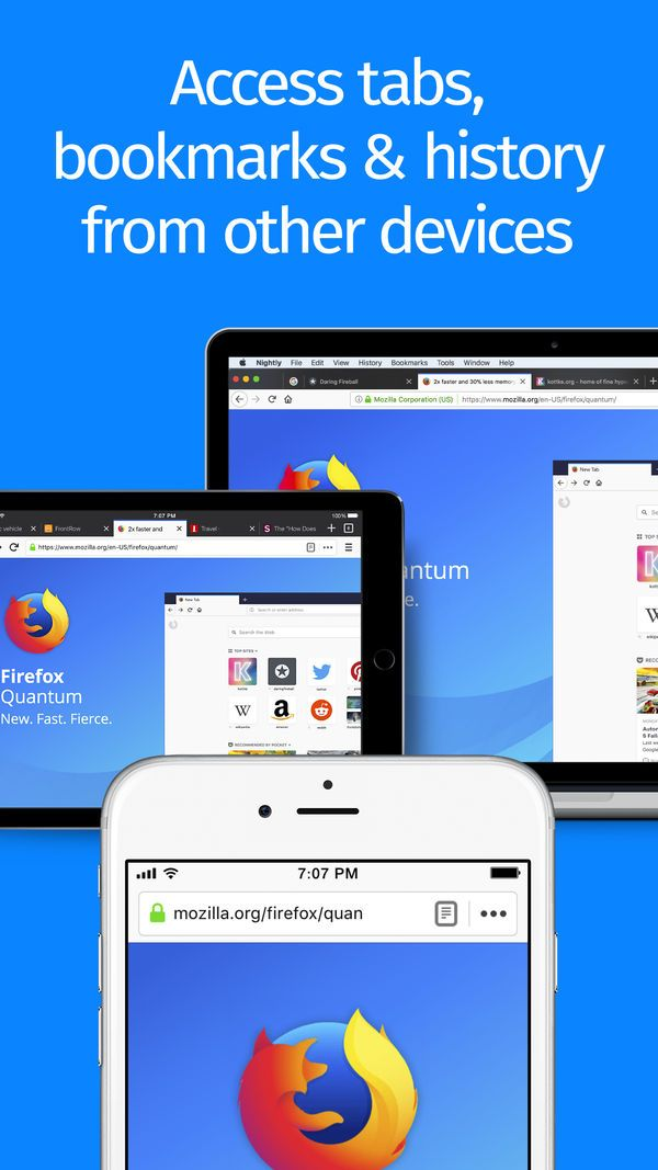 ‎Firefox Web Browser on the App Store Web browser