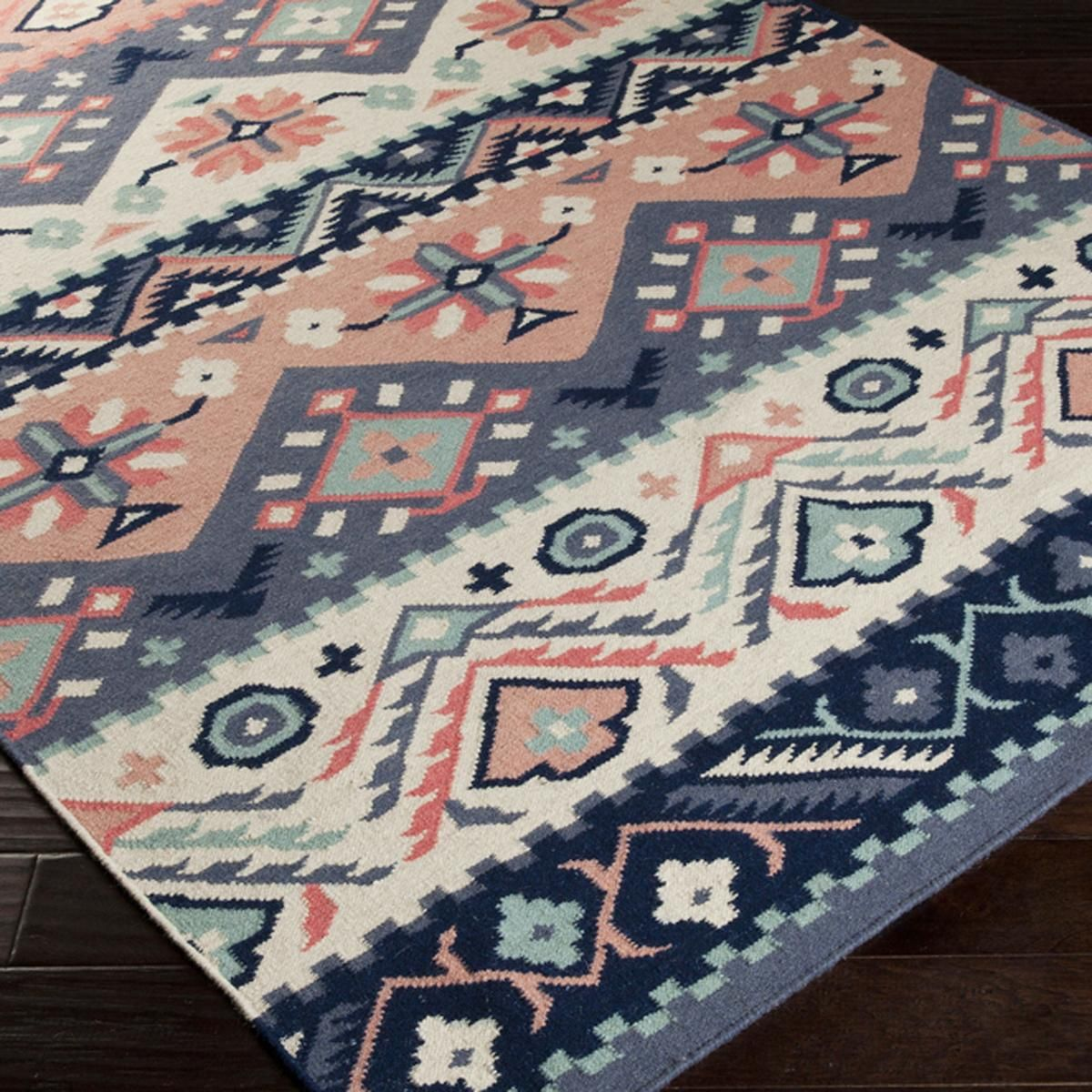 Native Blanket Flatweave Wool Kilim Rug in 2019   Cool ...