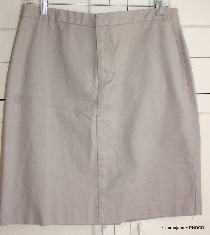 gap s khaki skirt size 8 khaki skirt khakis and ebay