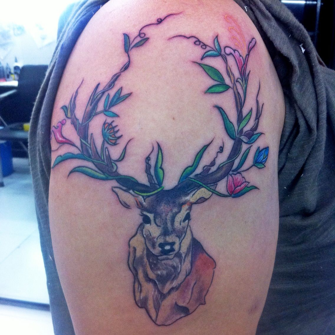 My Deer Tattoo..