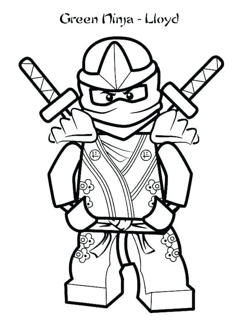 Printable Ninja Coloring Pages Coloring Pages For Kids Ninjago