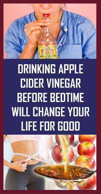 Drinking Apple Cider Vinegar Before Bedtime Will C