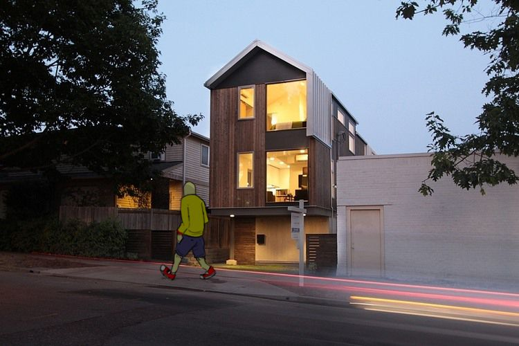 The goal of this house is to create livable and affordable