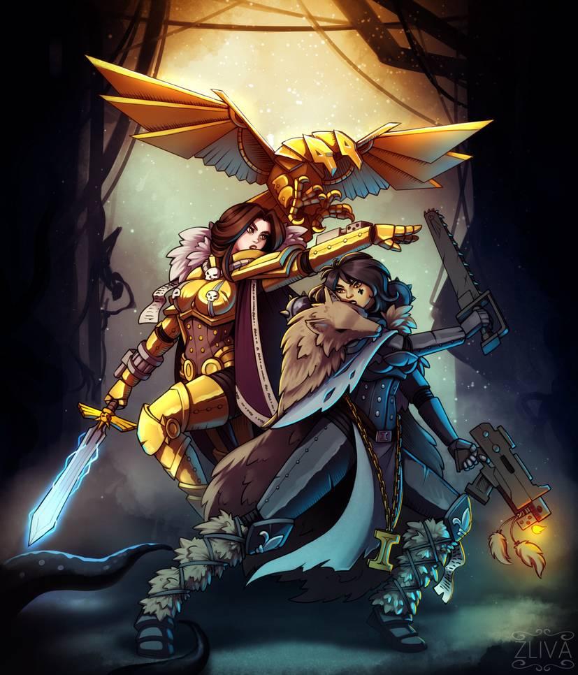 Cleaning the underhive by Zliva on DeviantArt | Warhammer ...