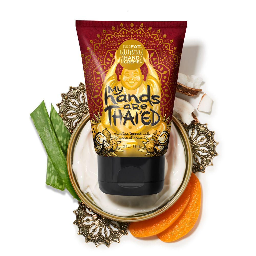 My Hands are Thaiued Big Fat Yummy Hand Crème  Perfectly Posh Dry