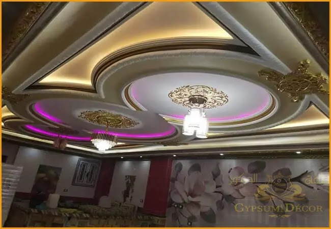 اسقف جبس 2021 Ceiling Decor Modern Decor Ceiling Lights
