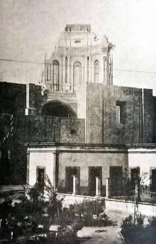 Cupula colapsada iglesia de ntra sra del roble my - Fotos del roble ...