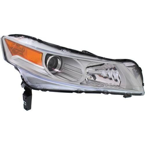 2009-2011 Acura TL Head Light RH,Lens And Housing,Hid,With