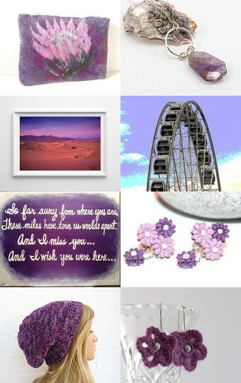 Purple Passion  ~ 10% Off All Featured Shops ~ by Jennifer Cox on Etsy--Pinned with TreasuryPin.com