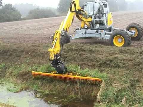 Menzi Muck A91 4x4 Plus with Sickle-Mower - YouTube | gadget | 4x4
