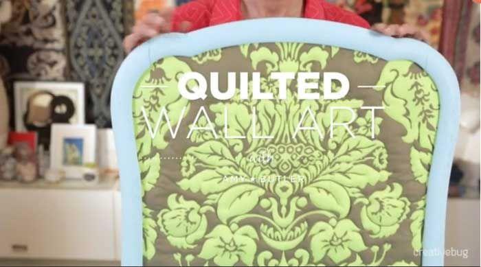 Quilted Wall Art Online Class | Wall art online, Machine quilting ...