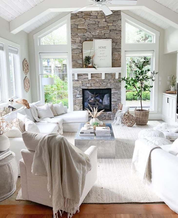 Photo of Farmhouse living room decor ideas that you can incorporate in your own home