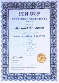 Gcp Certificate Clinical Research Cra Certification Gcp