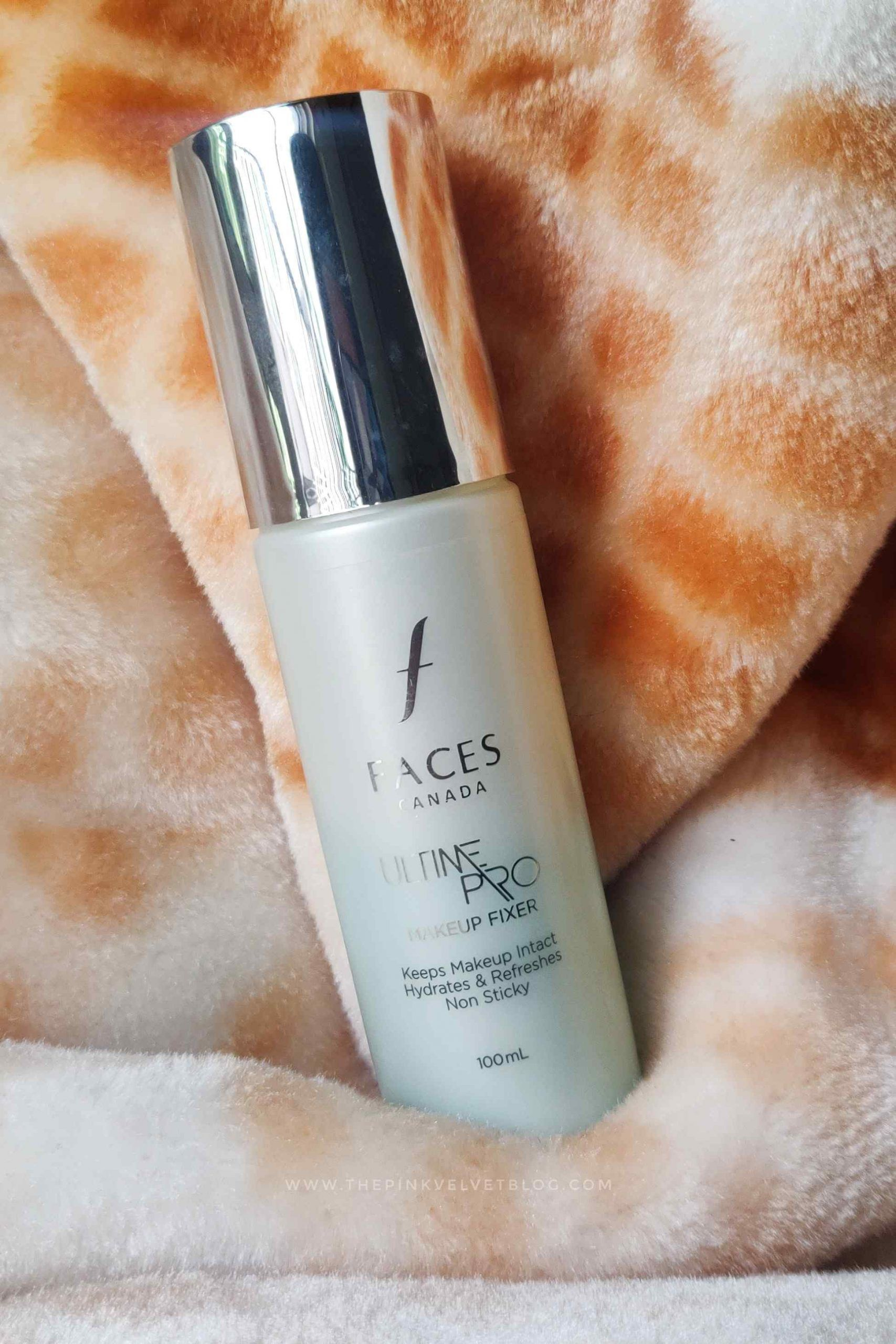 FACES Ultime Pro Makeup Fixer Review The Pink Velvet