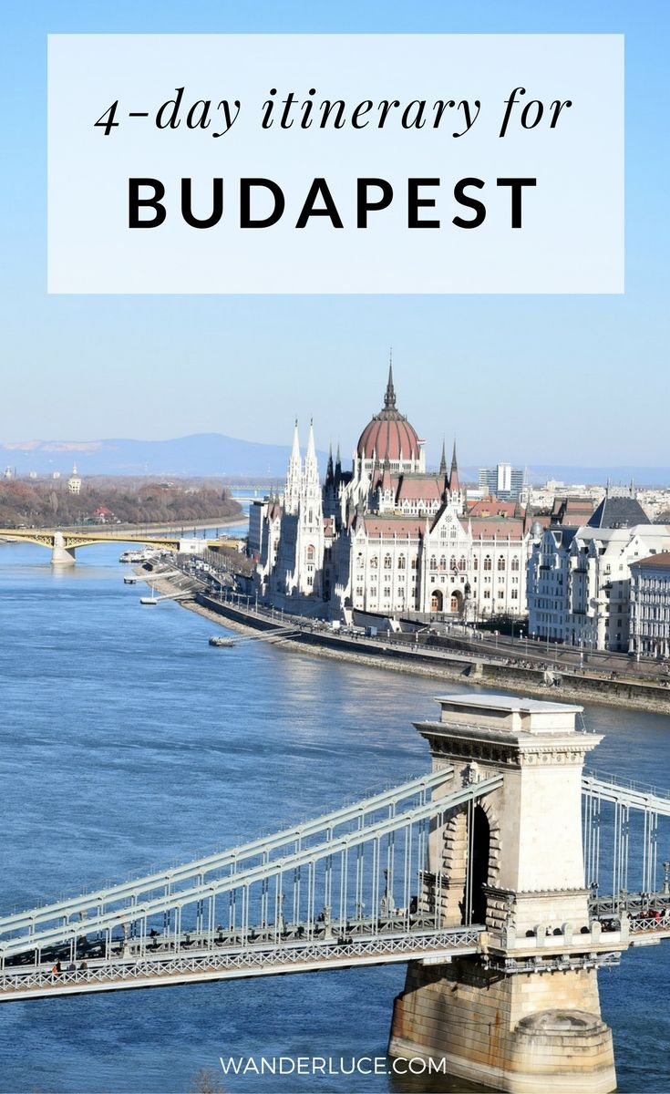 honeymooning in budapest: a 4 day itinerary   budapest