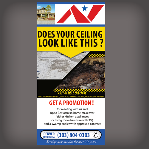 Roof Inspection Promo Postcard Flyer Or Print Contest Design Postcard Flyer Kayleena Grass Painting Replace Roof Window Company