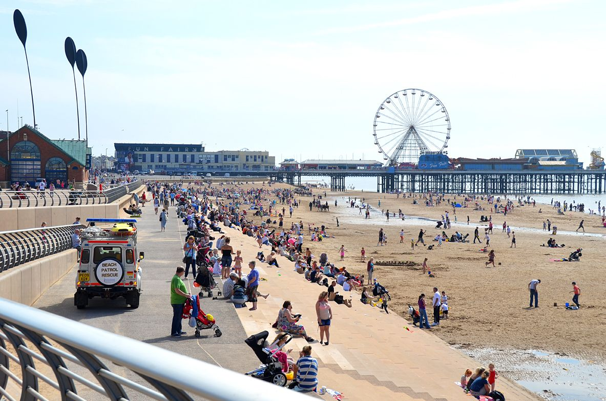 Seven Miles Of Blackpool Beaches For You To Explore Live Blackpool Blackpool Beach Blackpool Beach Images