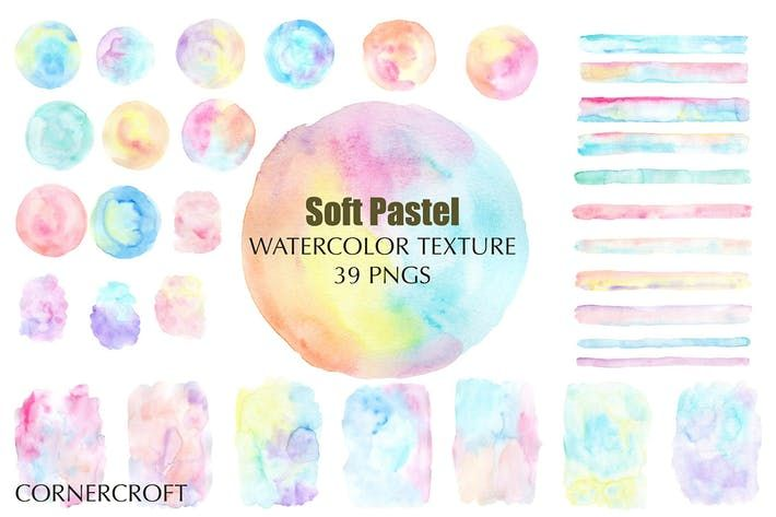 Watercolor Texture Soft Pastel By Cornercroft On Watercolor