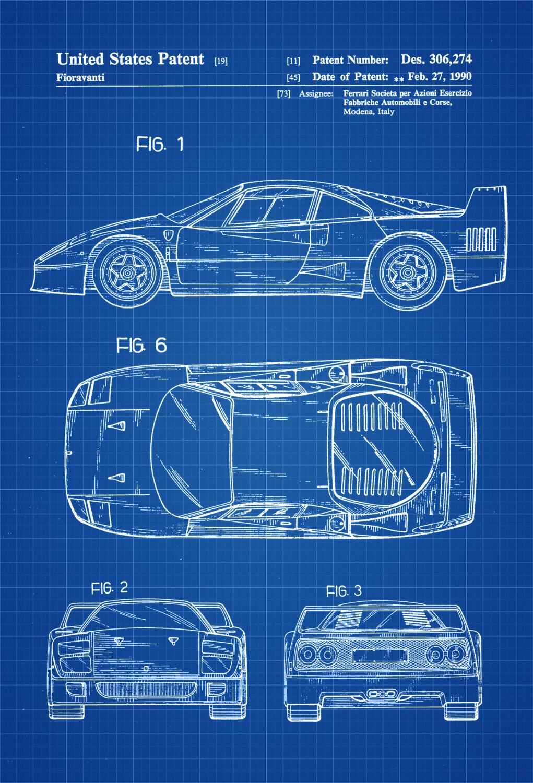 Pin On Cars Patent Prints