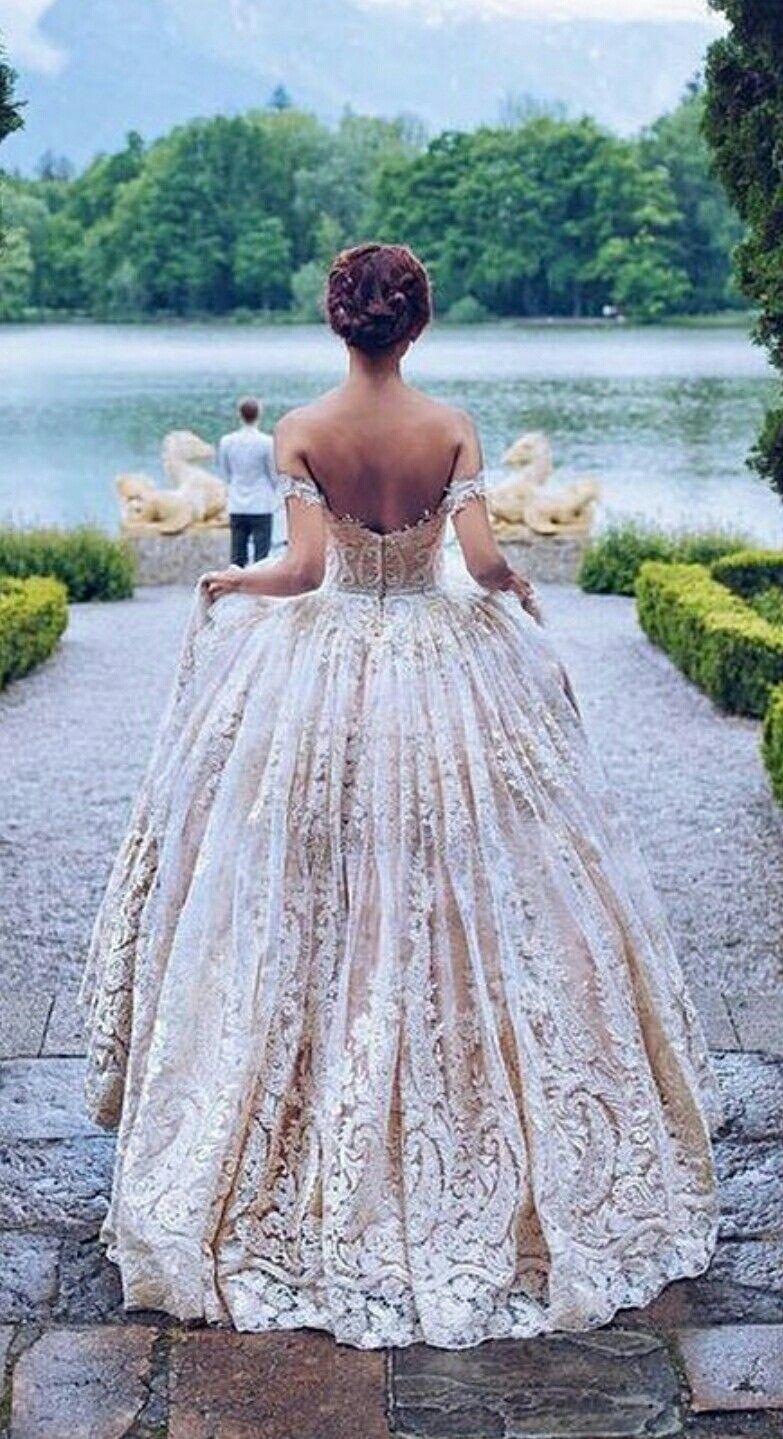 Cinderella inspired wedding dress  Vintage Lace Wedding Gown  Style  Wedding  Pinterest  Vintage
