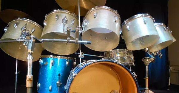 The Most Recorded Drum Set In History Hal Blaine S Monster Kit In