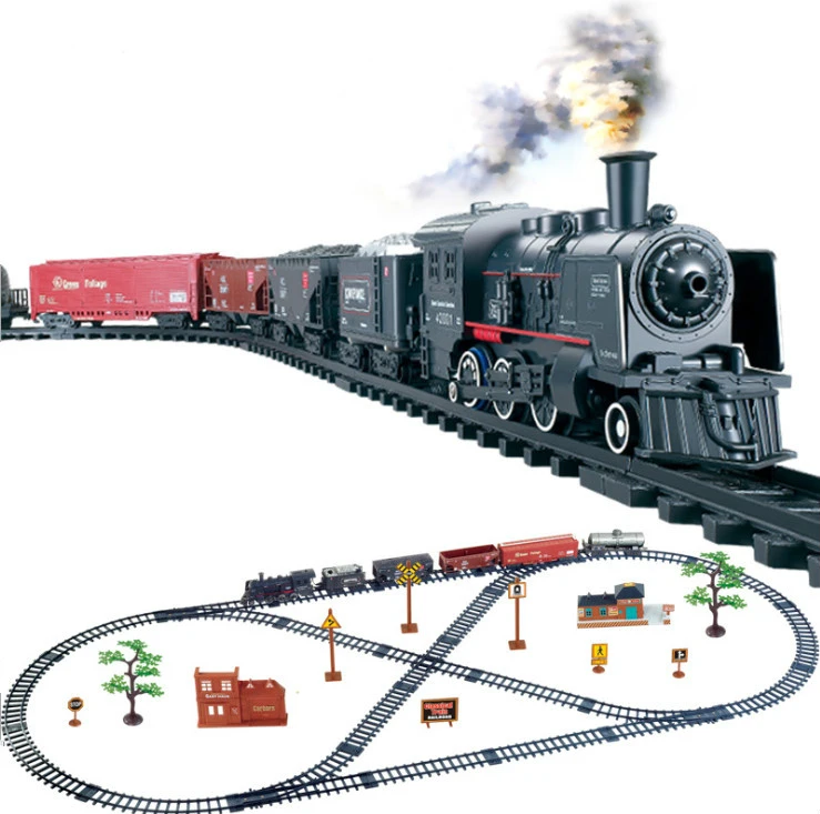 Motorized Classic Electric Train Set In 2020 Electric Train Sets
