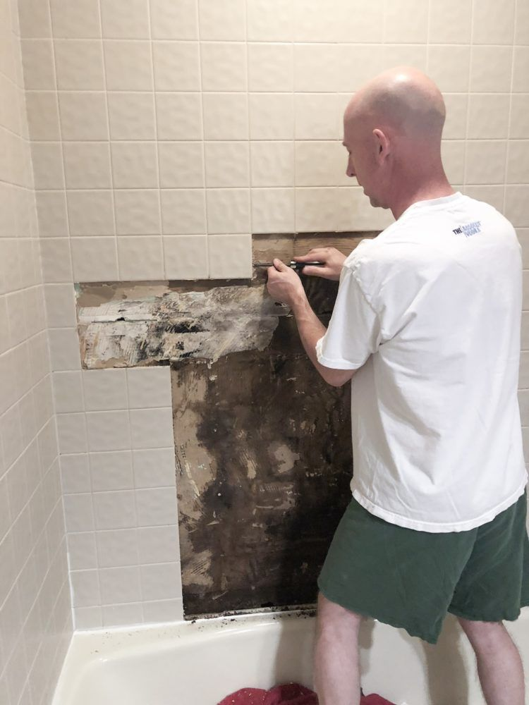 How To Install Bathroom Wall Tiles Bathroom Wall Tile Budget Bathroom Remodel Tile Repair