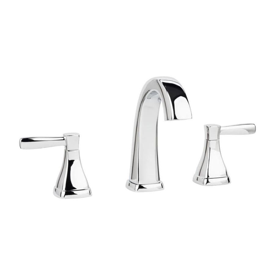 Miseno Elysa Polished Chrome 2 Handle Widespread Watersense Bathroom Sink Faucet With Drain Mno641cp In 2020 Widespread Bathroom Faucet Bathroom Faucets Sink Faucets