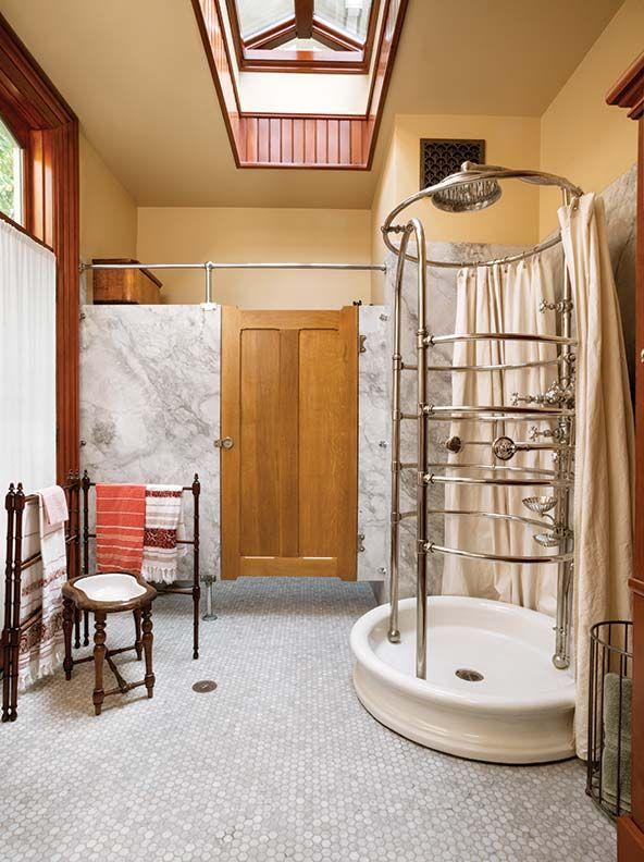 Photo of Reproduction Victorian bathroom