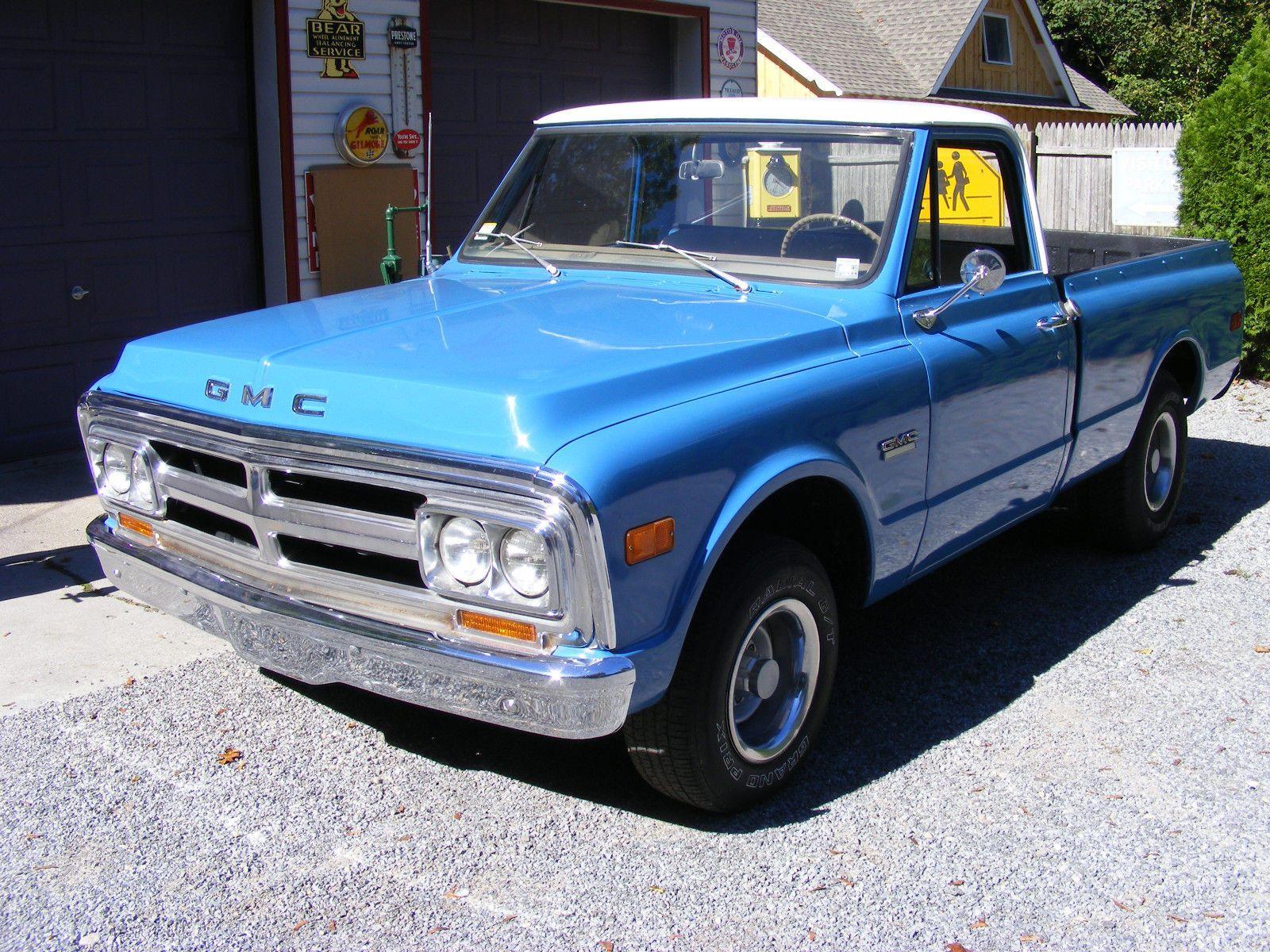 original 1970 GMC C 10 vintage pickup | Vintage trucks for sale ...
