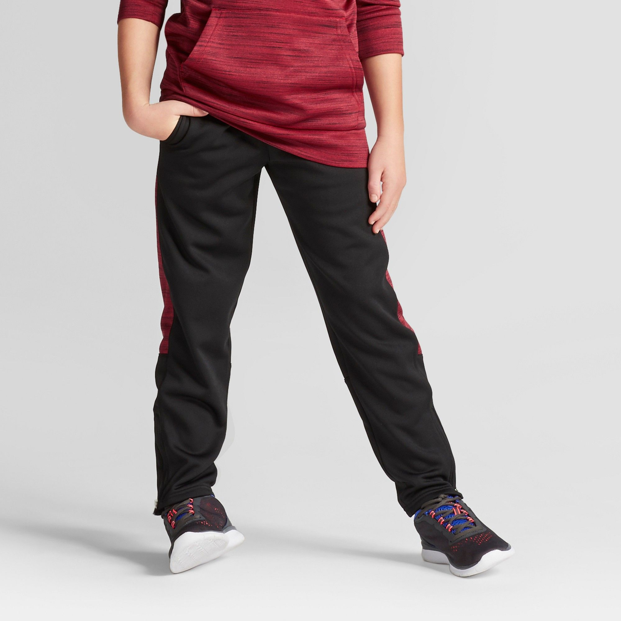 Boys cozy tech fleece jogger pants c9 champion red xs