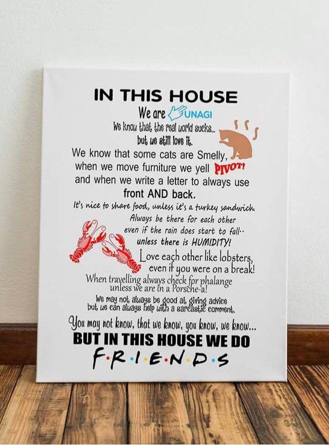 Friends Tv Show Quote